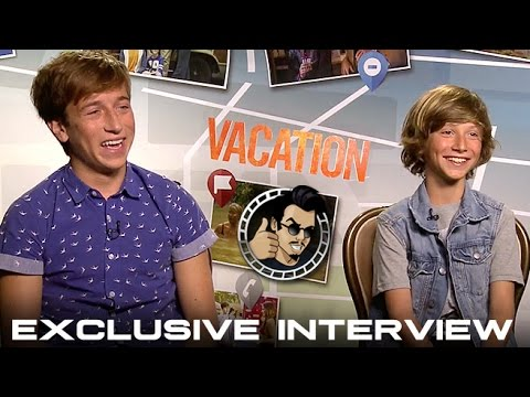 Skyler Gisondo and Steele Stebbins   Vacation HD 2015