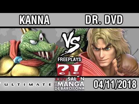 [FICOMIC 2018] Kanna (King K Rool)  vs DR.DVD (Ken)