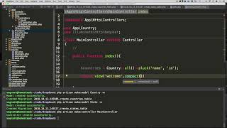 Laravel - Country and State Dropdown with AJAX - Part 2