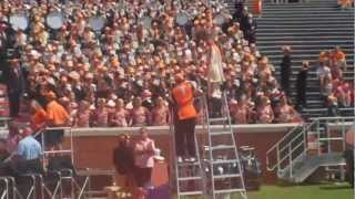 University of Tennessee Marching Band strikes Rocky Top Up Close and Loud! 9/10/11