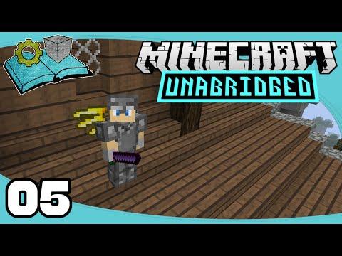 Minecraft Unabridged - Ep. 5: Angel Ring (w/ Nonsanity) | Primus Unabridged Modpack Let's Play