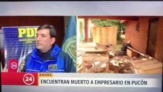 Encuentran sin vida el cuerpo de Manuel Nuñez Rojas en Pucón.