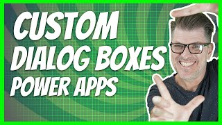 How to create a pop-up message in PowerApps / PowerApps