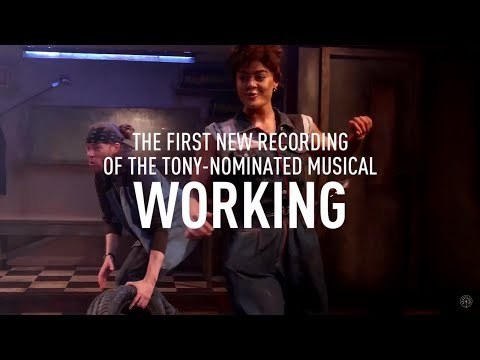 Working: A Musical Original London Cast Recording P