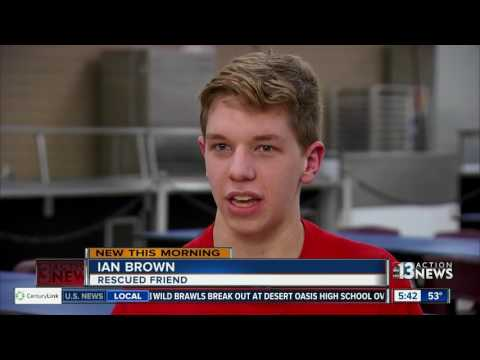 Wisconsin student saves friend from choking