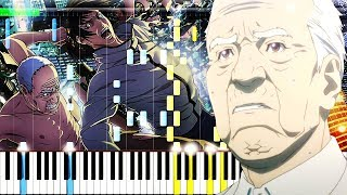 Inuyashiki OP/Opening『My Hero』Piano Tutorial『いぬやしき 主題歌』ピアノ