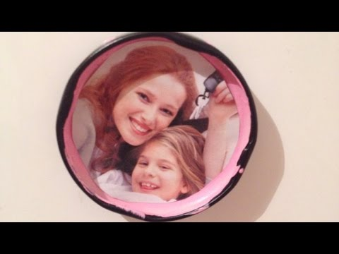 Make a Cute Photo Refrigerator Magnet - DIY Home - Guidecentral