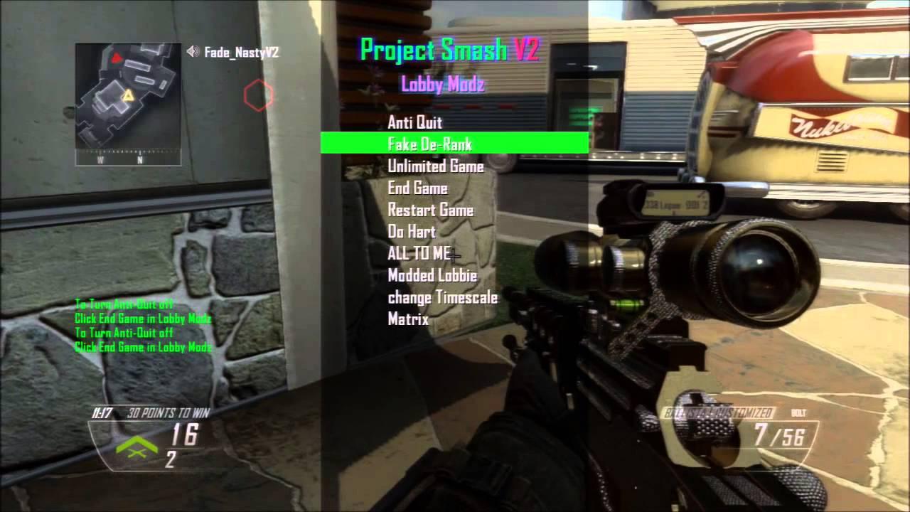 1v1 Mod Menu Trolling Black Ops 2 Ps3 YouTube