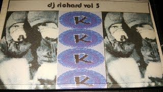 DJ Richard - Anthems Vol5 - Oldskool House and Speed Garage 90min Mix - 2001