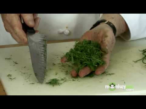How to cut dill