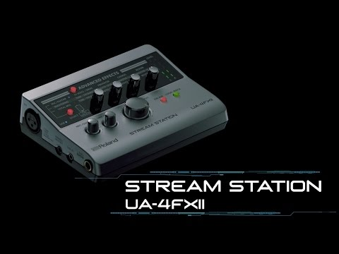 STREAM STATION -- USB audio interface for webcasting
