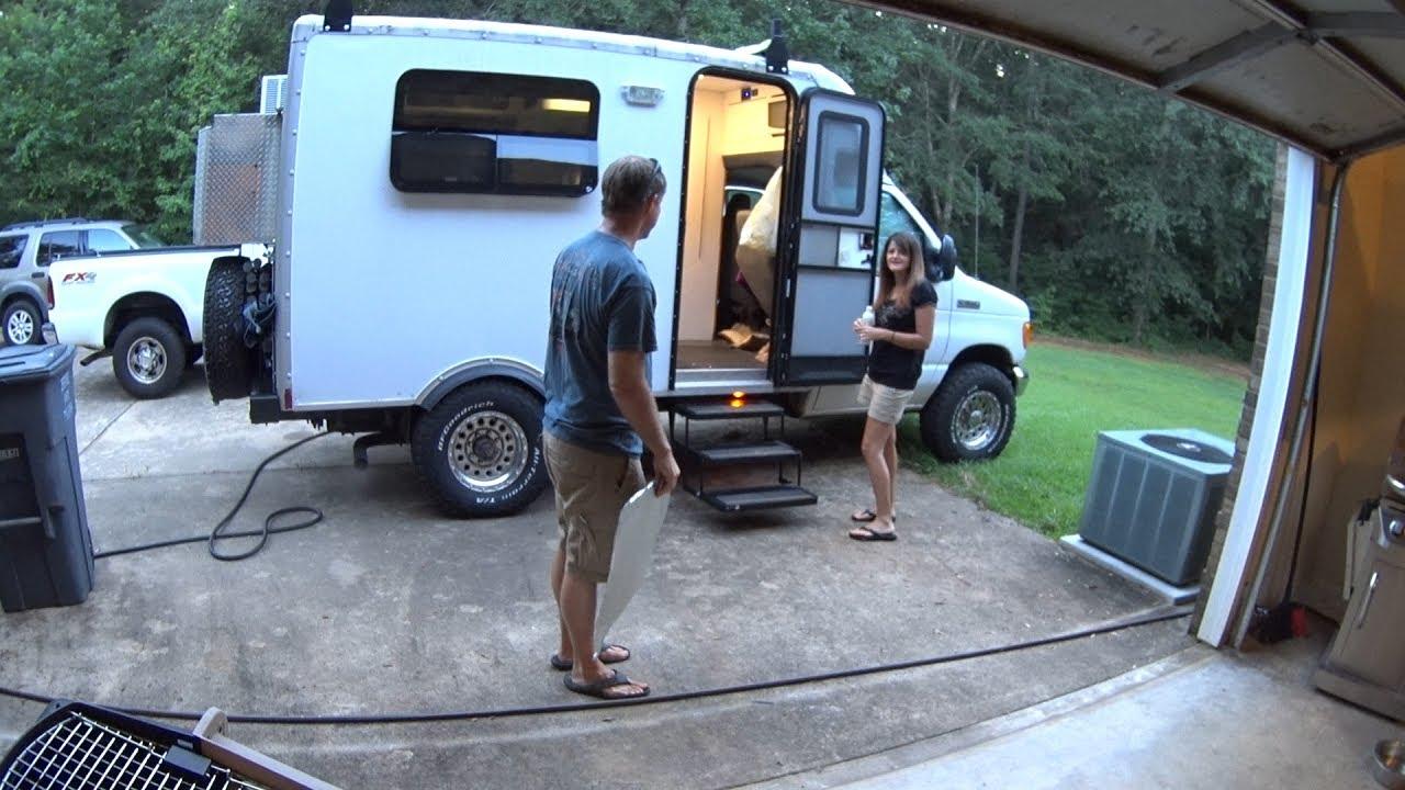 Box Truck Camper Helen And Hiawassee Georgia Fixing