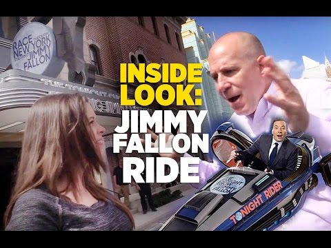 Inside Look: New Jimmy Fallon ride with Creative Producer Jason Surrell at Universal Orlando