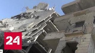 Коалиция США превратила богатую Ракку в руины - Россия 24