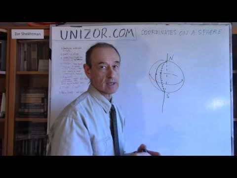 Unizor - Geometry3D - Spheres - Latitude, Longitude
