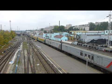 Киров вокзал,  прибытие поезда