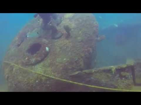 Wreck Dive Panama City - The Red Sea