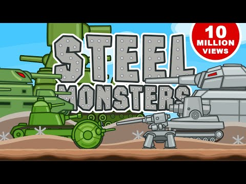 Steel Monsters Attack. All episodes in a row about Karl Dor Ratte KV-6 KV-44