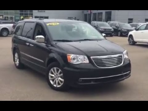 2016 Chrysler Town & Country Limited | 17RC801710 | Crosstown Auto Centre