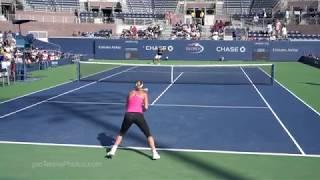 Caroline Wozniacki, 2017 US Open practice, 4K