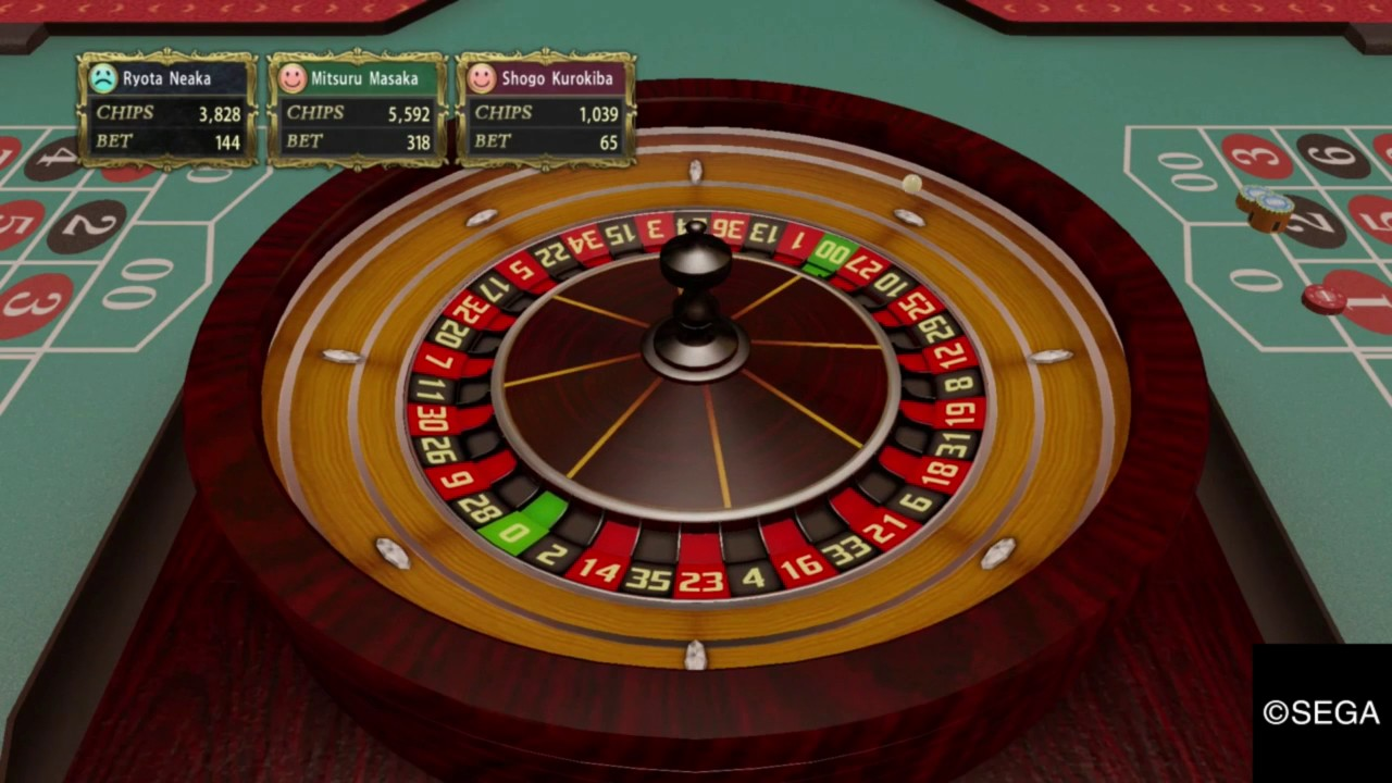 Yakuza 0 - Roulette and Baccarat Minigames Strategy  -  Earn a total of 10 million yen