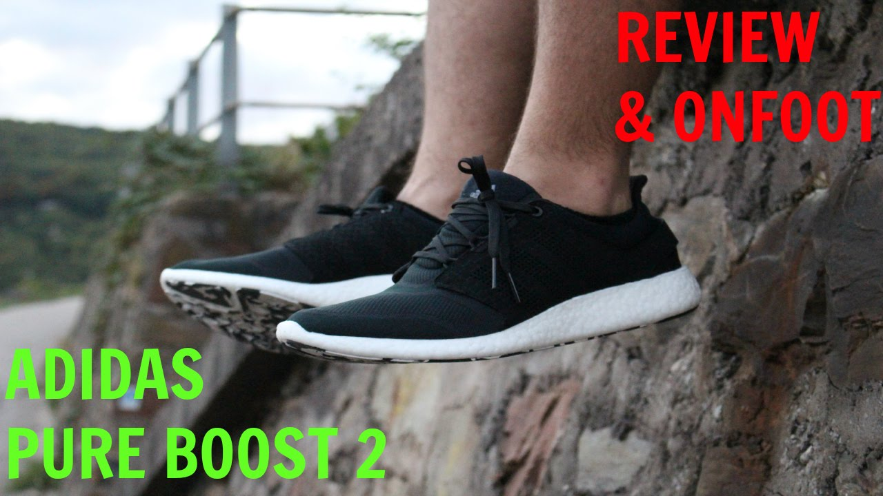 47a73084efc93 ... good adidas pure boost 2 review w onfoot comparison youtube cc161 3efdd