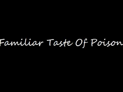 Halestorm-Familiar Taste Of Poison (Lyrics Video)