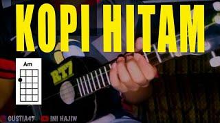 KOPI HITAM REGGAE COVER PAKE UKULELE BOR