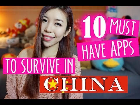 Life In China: 10 Must Have Apps To Survive In China