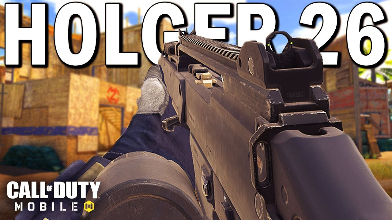 The *NEW* Holger 26 is the Fastest LMG in COD Mobile!