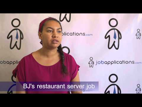 BJ's Restaurant Interview - Server