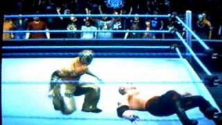 WWE Smackdown vs Raw 2010: Kane vs Rey Mysterio-SummerSlam 2010 PPV