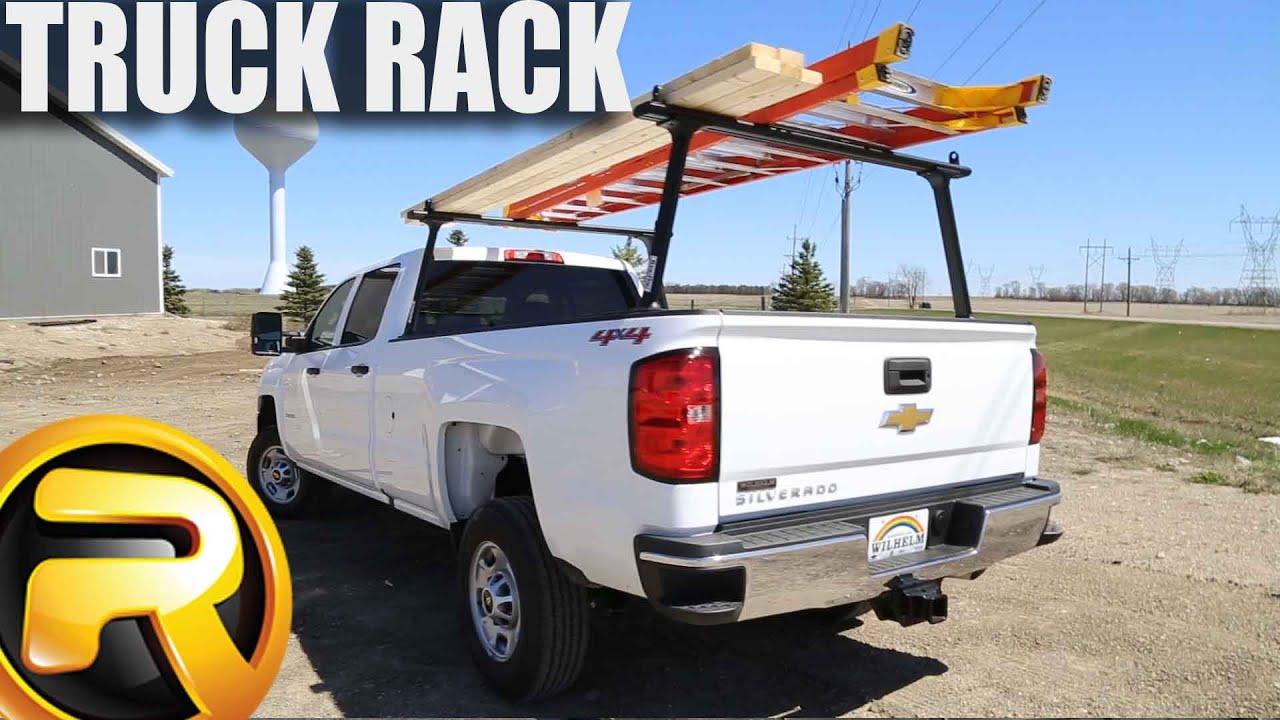 how to install tracrac tracone truck racks