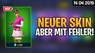 FORTNITE SHOP from 14.4 - 🏌 New Skin! 🛒 Fortnite Daily Item Shop of today (14 April 2019) | Detu