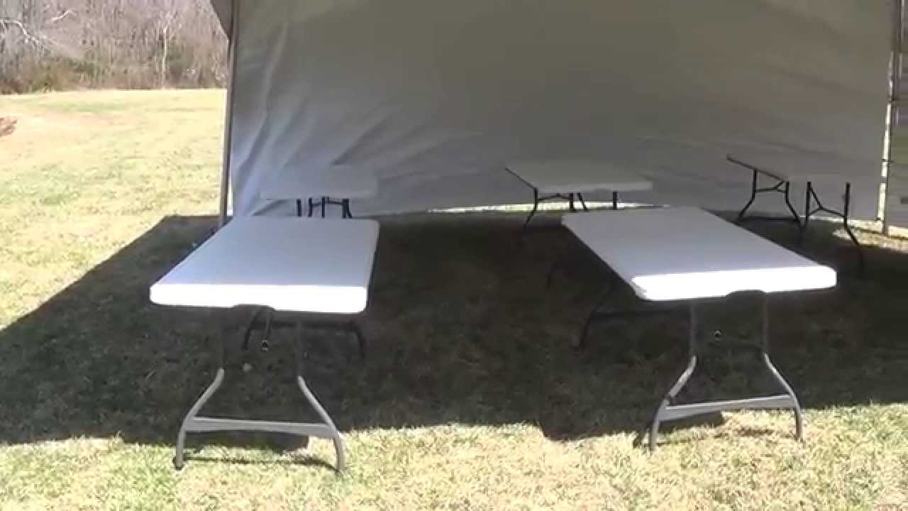 Teton Tent Rental-20x20 Hi peak tent rental tour with sides and tables   Available in South Jersey