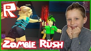 Stealing Gems in Zombie Rush / Roblox