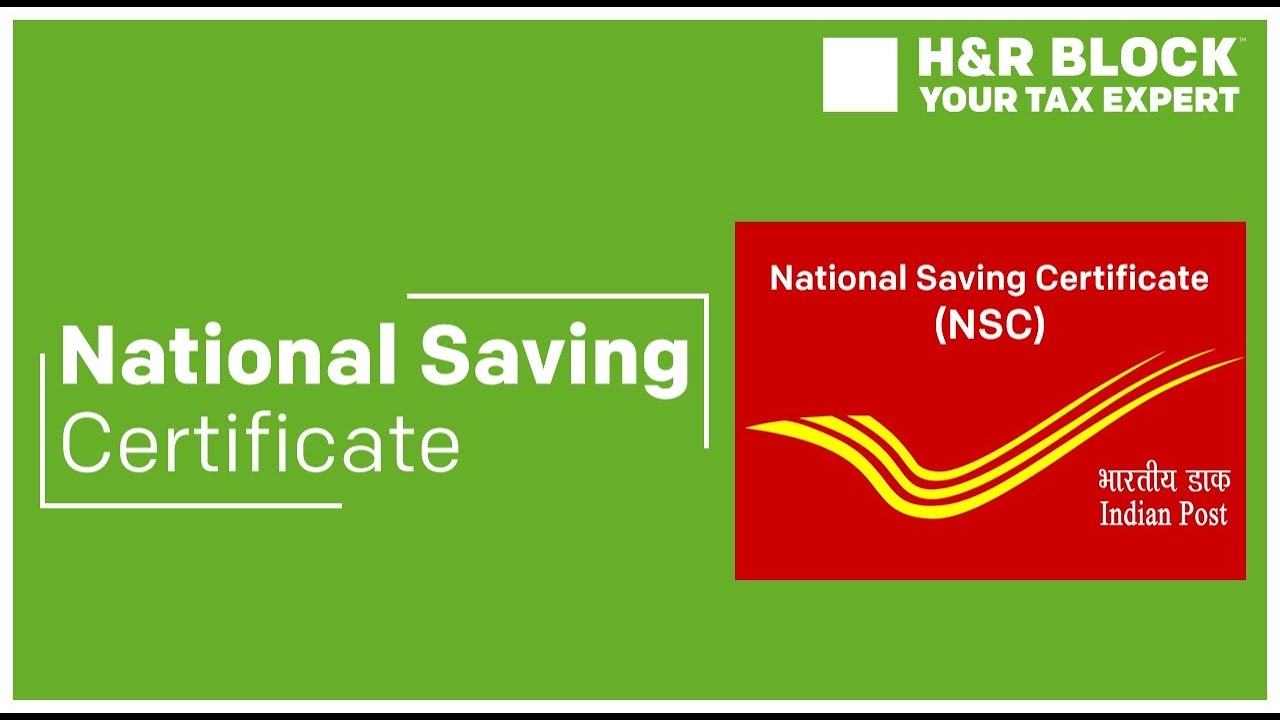 Nsc National Saving Certificate Under Section 80c Youtube