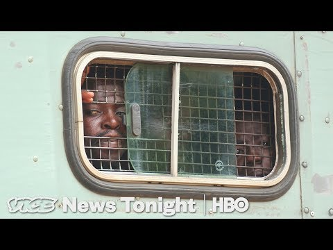 We Were Inside Zimbabwe After The Government Cracked Down On Protestors (HBO)