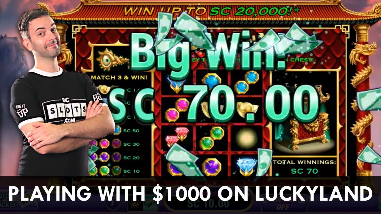 Live Slots Luckyland Social Casino With 1 000 Brian