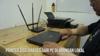 Asus Router - Wireless Printing
