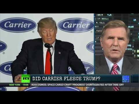 Did Carrier Fleece Both Trump & America?
