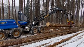 Rottne H21D - timber to China