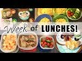 EASY, HEALTHY LUNCH IDEAS! | WEEK OF HOMESCHOOL LUNCHES