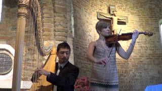 Wagner Bridal Chorus (Wedding march) from Lohengrin Jenni Kuronen, violino Antonio Ostuni, arpa