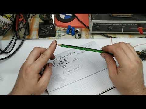 Супер-регулятор мощности на пяти деталях.  Схема+пояснение.