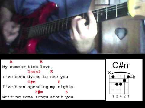 Summer Time Love By Juan Karlos Labajo Guitar Chords Youtube