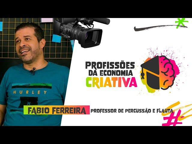 PROFESSOR DE PERCUSSÃO E FLAUTA feat. FABIO FERREIRA | Instituto Saber Social