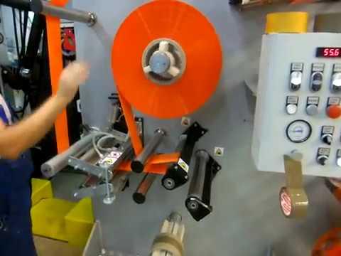 NIKELMAN - Changing Casing Roll During Printing (non-stop Printing) - Nikelman® 330 Gearless