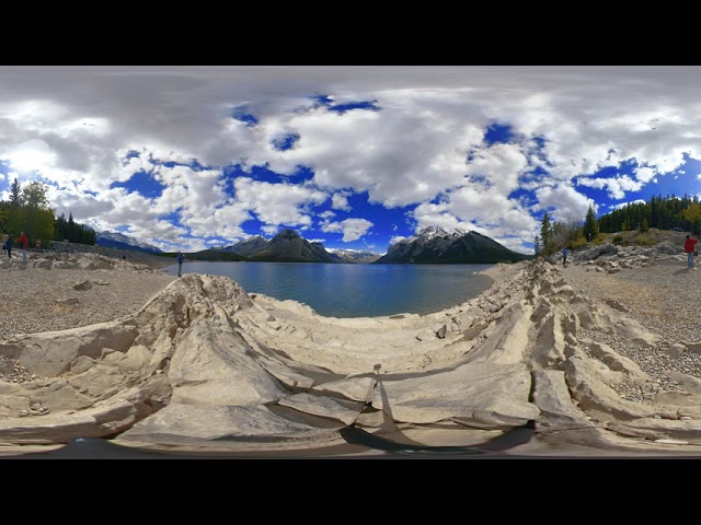 Lago Minnewanka - Video 360
