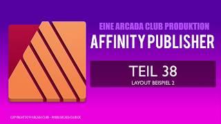 Affinity Publisher Teil 38   Layout Beispiel 2